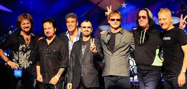 Richard Starkey and his allstar band - Not in order - Steve Lukather, Richard Page, Gregg Rolie, Todd Rundgren, Mark Rivera, Gregg Bissonette