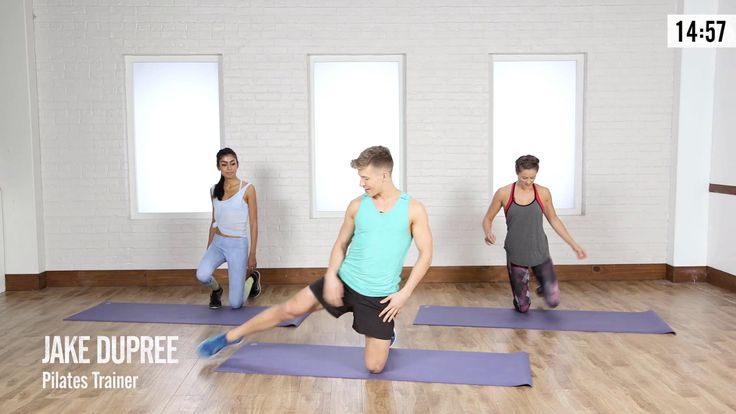 A 15-Minute Lazy-Girl Booty Workout to Lift and Sculpt Your Rear: Get ready for a serious booty burner from Pilates trainer Jake DuPree.