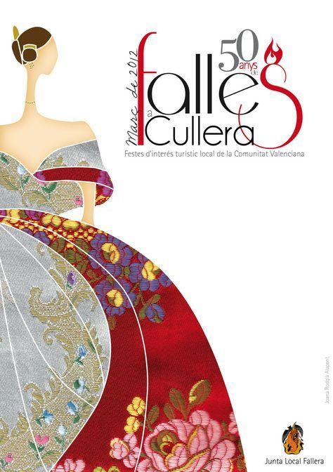 Cartel Fallas Cullera 2012
