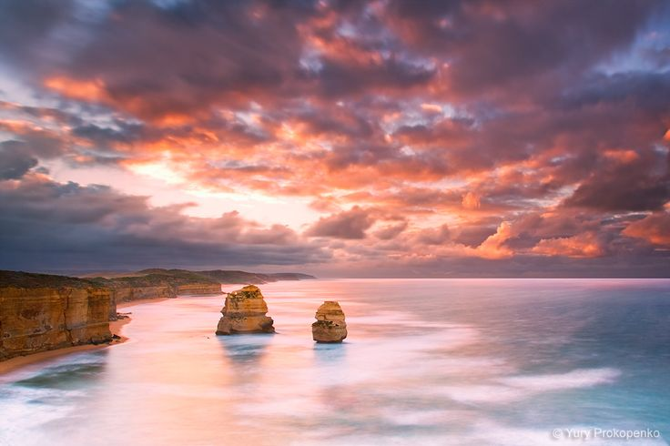 Gibsons Steps Beach, Twelve Apostles Marine National Park, Great Ocean Road, Victoria, Australia