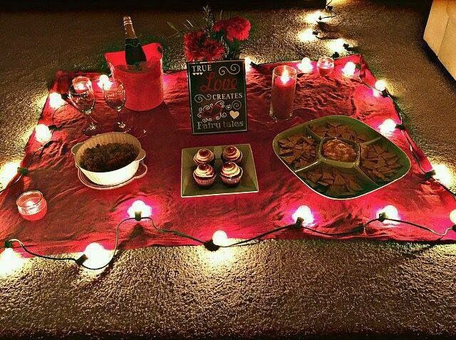 Romantic Valentines Day Ideas For Him At Home