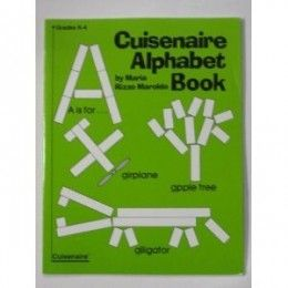 Cuisenaire Alphabet Book