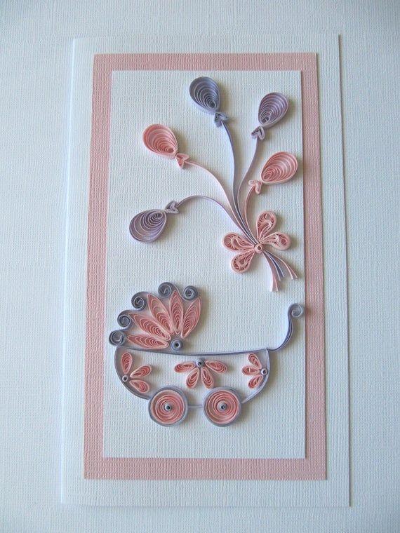 Ideas Tarjetas Baby Shower.New Born Baby Girl Card Cute Baby Girl Card Card For New