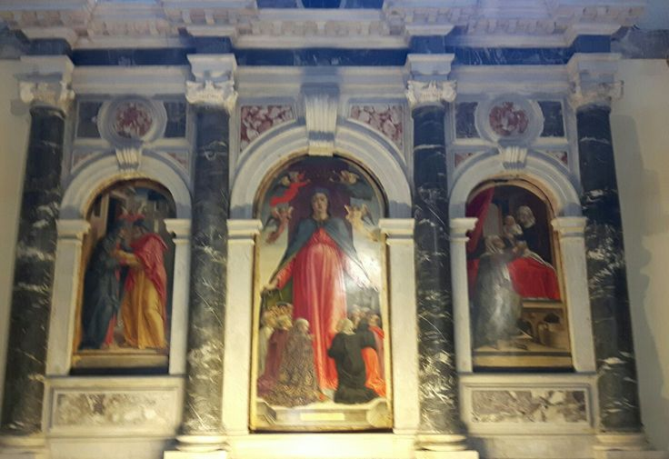 1494. Madonna della Misericordia e storie ella Vergine. 1494. Santa Maria Formosa