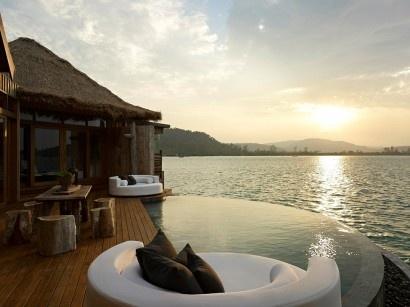 Özel Ada Konseptli Otel Dekorasyonu – Kamboçya #holiday #hotel# #nature #ocean #sea