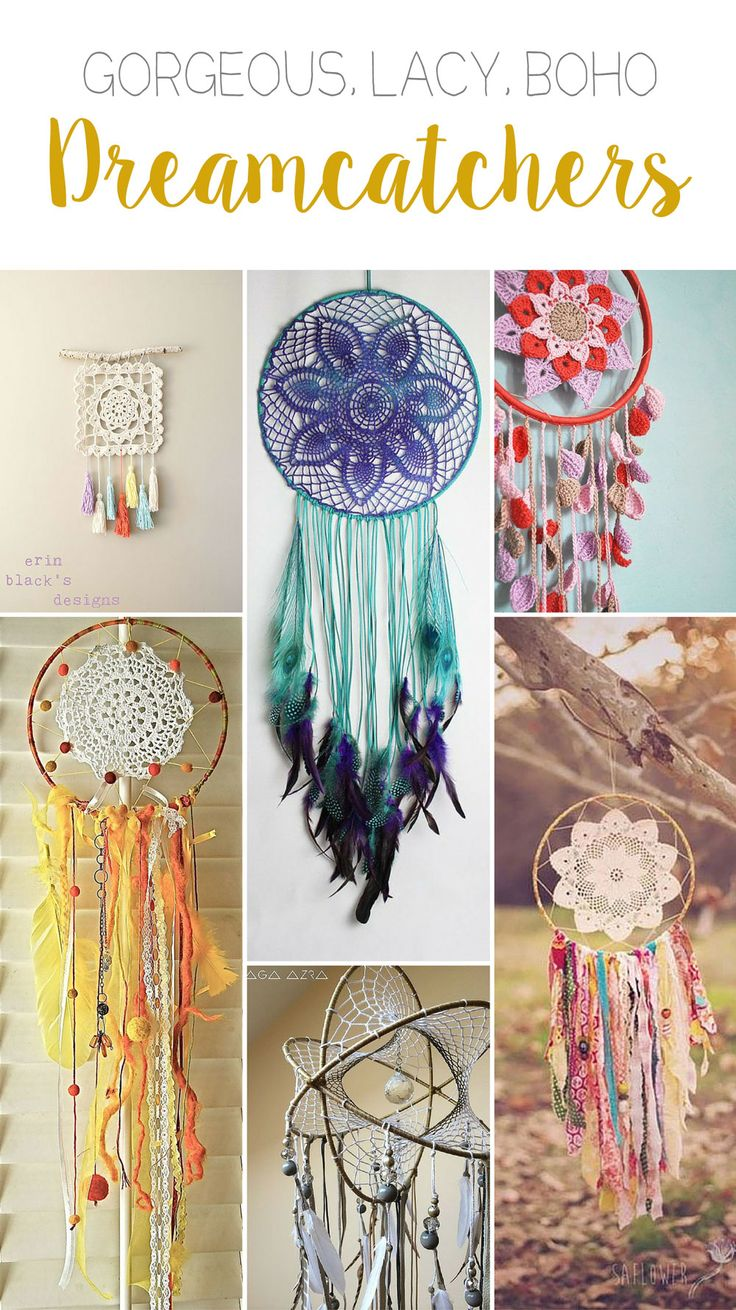 http://haakmaarraak.nl/6-dreamcatchers-youve-got-to-try/; There are some gorgeous designs in here!