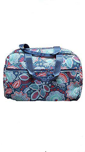 Vera Bradley Large Duffel Travel Bag Nomadic Floral