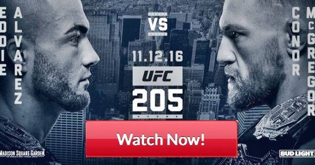 UFC 205 – live stream, UFC Live streaming, ufc 205 fight card, fight pass, start time, Alvarez vs McGregor, McGregor vs Alvarez