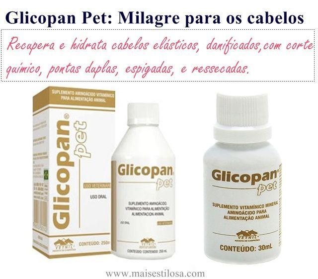 Mais Estilosa: Glicopan pet nos cabelos: Como usar esse produto m...