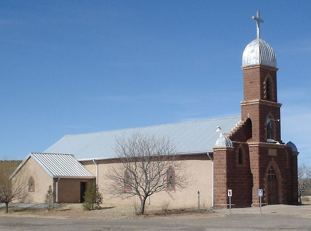 Nuestra Senora del Refugio Catholic Church, Puerto de Luna, NM