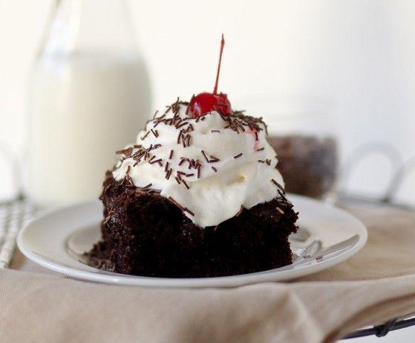 Peanut Butter Fudge Sundae Cake | Let them eat Cake! | Pinterest