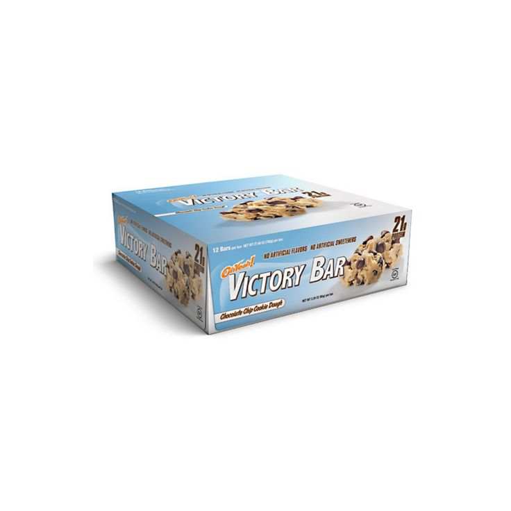 Oh Yeah Victory Bar Protein Bar - Chocolate Chip Cookie - 12ct