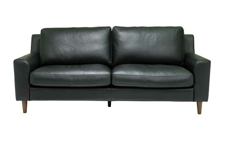 small size leather sofa lounge room designs pinterest