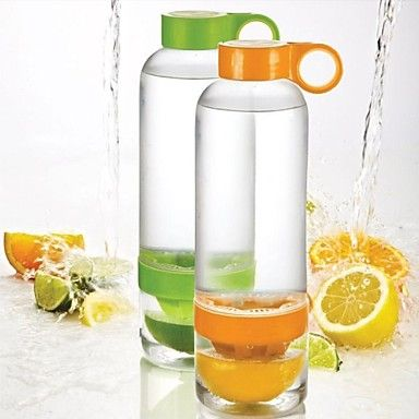 Infuse your water with fresh lemon or lime juice <3