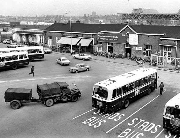 Breda - NS-station - 1974