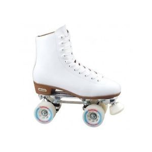 Retro roller skating has made a come-back! These women's / Girl's roller rink skates are unique and absolutely perfect for general skating. Great ankle support and they are very comfortable. The skate feature leather-lined vinyl material and an easy hook lacing system.