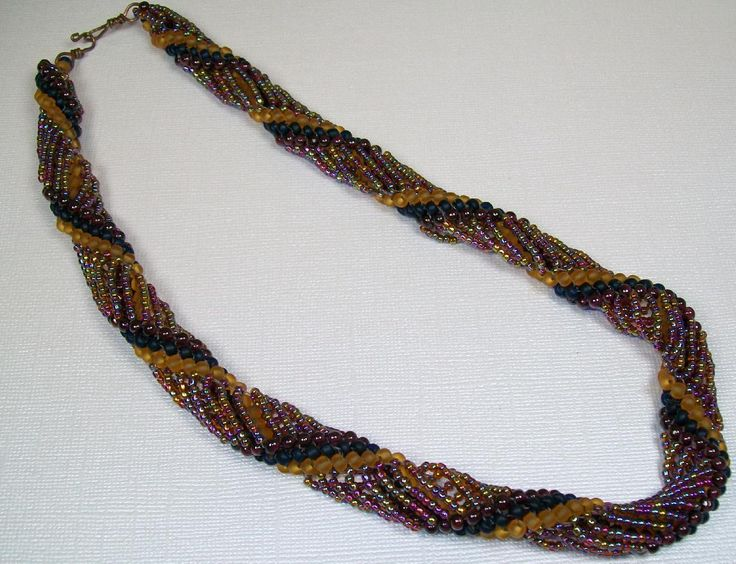 how to make a rope necklace with beads