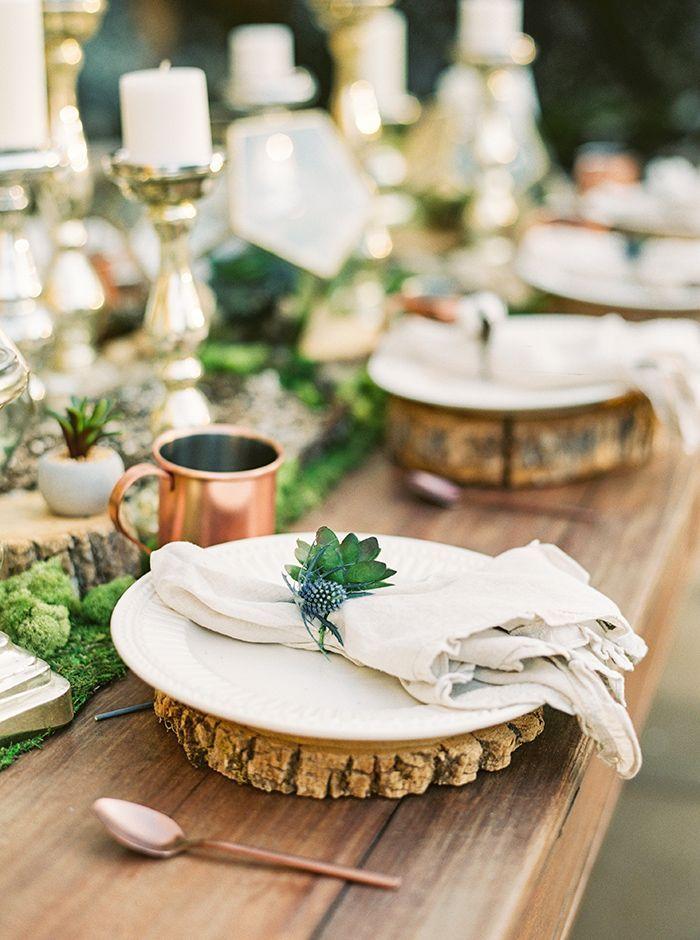 Rustic Bohemian Mountain Wedding