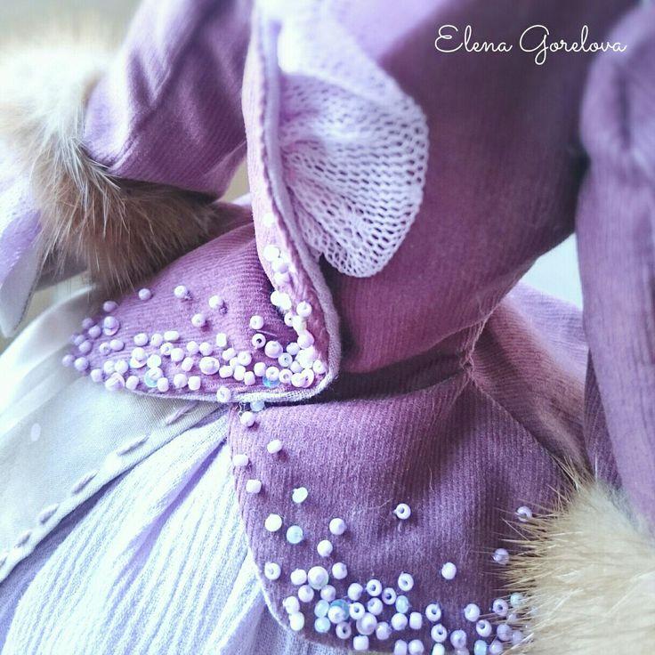 Сиреневый, лиловый, фиолетовый, модный цвет 2018, кукольная мода. Куклы Елены Гореловой.