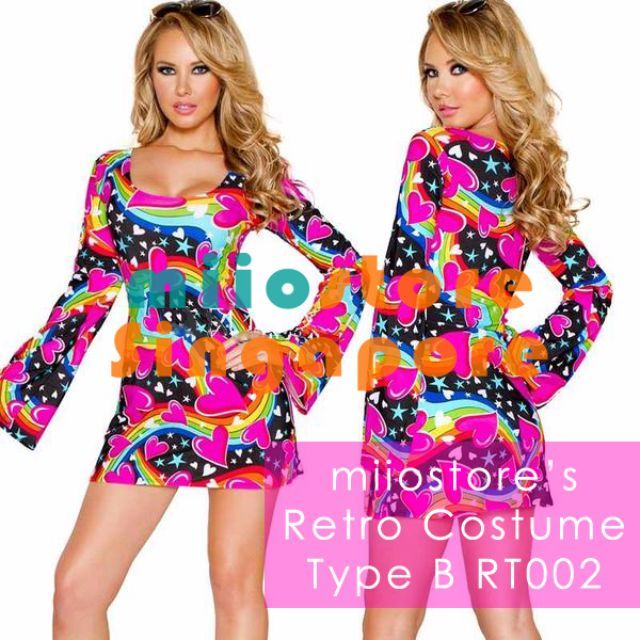 Retro Costume Singapore! miiostore's July Retro launch! Purchase (Brand new): $52.90  Rental by Advance Booking only ($5 partial payment per set required)!  *** - $24
