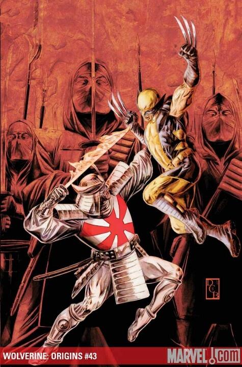 Wolverine vs Silver Samurai