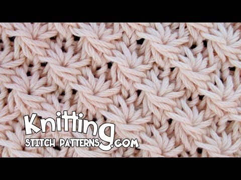 Knitting Stitch Patterns: Daisy Stitch