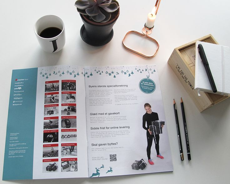 Julekatalog år 2015 designet for amaster Sport