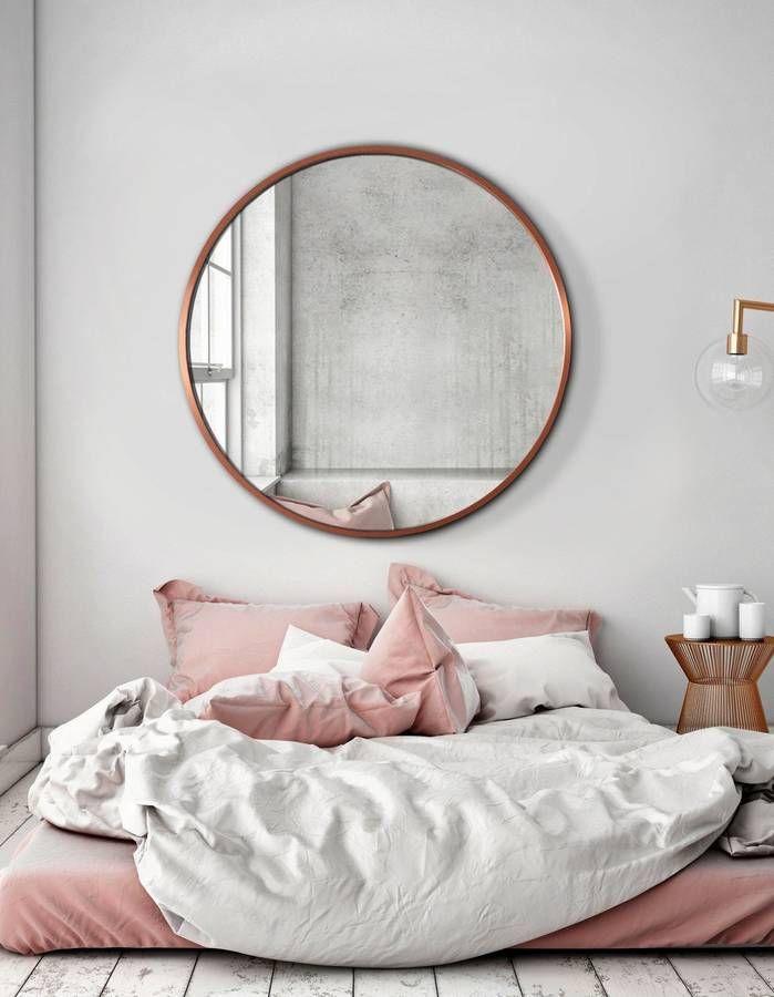 Le Miroir Rond Cet Indispensable Deco A Nos Interieurs Elle