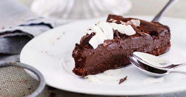 RAW čokoládový dort