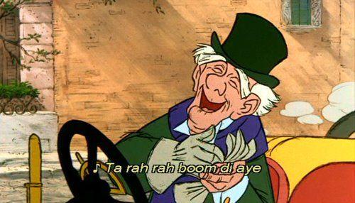Tah-Rah-Rah-Boom-Di-Aye: Disney Movies, Disney Quotes, Favorite Disney, Around The House, Favorite Character, George Hatecourt, Disney Characters, Aristocats George, The Aristocats Quotes