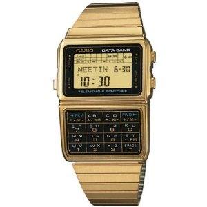 #watch #casio #databank  #gold   £44.49
