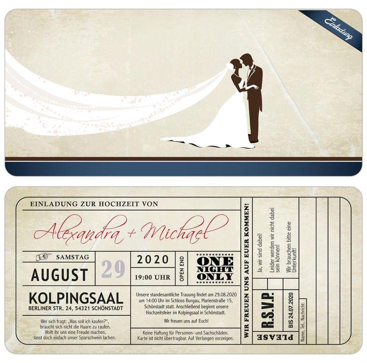 19 best Einladungen zur Hochzeit images on Pinterest   Invitation ...