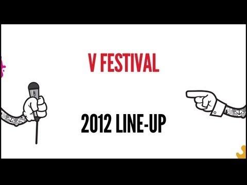 V Festival Line Up - Chelmsford, 2012.