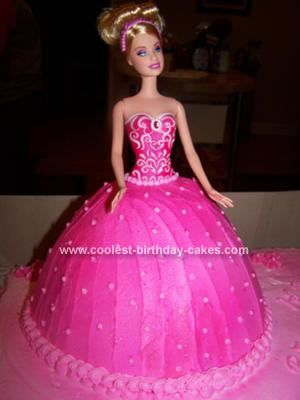 Barbie and Doll Birthday Cakes 23