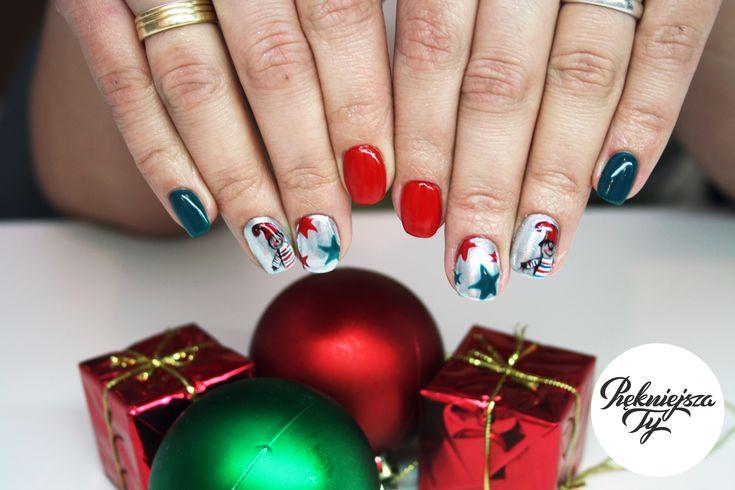 #manicure #nails #christmas