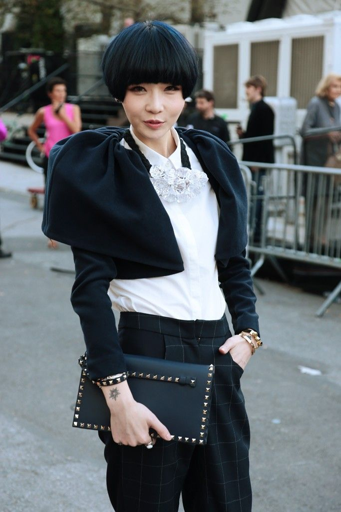 YOU ARE TOO CUTE AND ELEGANT AT THE SAME TIME They Are Wearing: New York Fashion Week - Slideshow