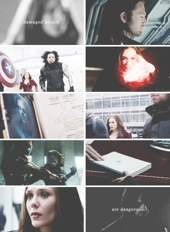 They know they can survive. Wanda x Bucky |