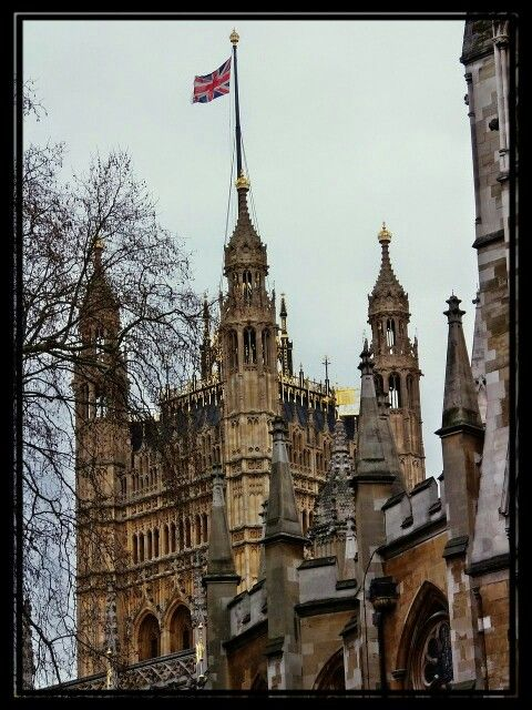 London - Victoria Tower, Palace of Westminster