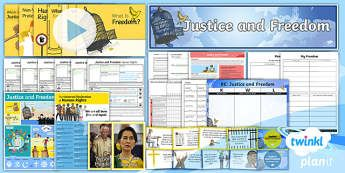 PlanIt RE Year 6 Justice and Freedom Unit Pack