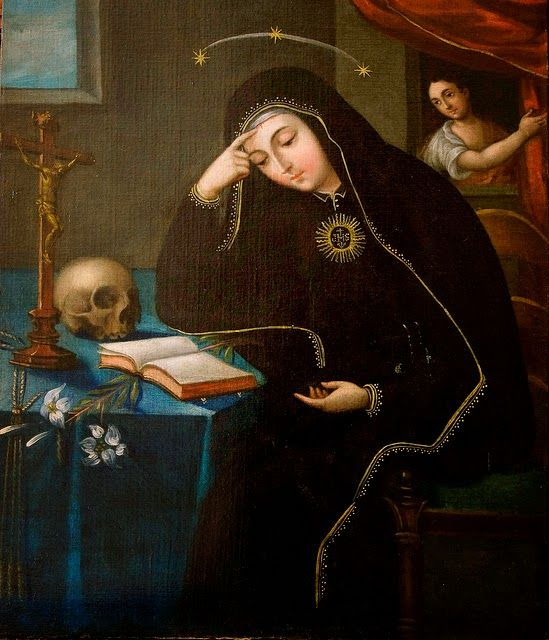 Venerable Mother Mariana de Jésus Torres (d. 1635) Foundress of the 1st Convent in the Americas &  Prophet to the 20th Century