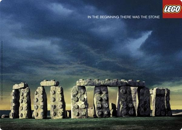 #Lego - In the beginning there was the stone.
