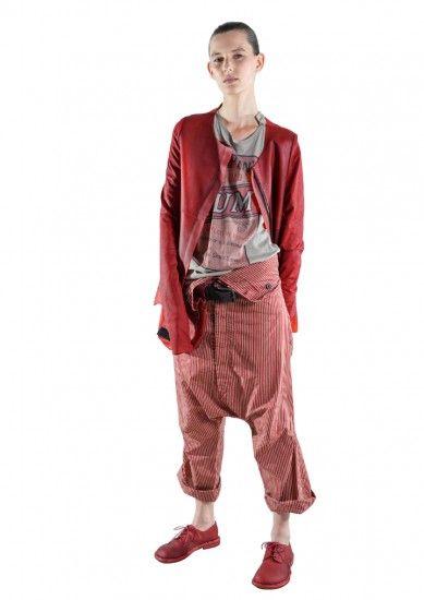 Rote Lederjacke von RUNDHOLZ 1171411102