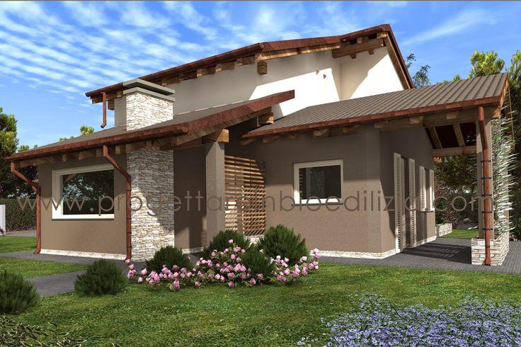 Oltre 25 fantastiche idee su esterni casa su pinterest for Design frontale della casa a un piano