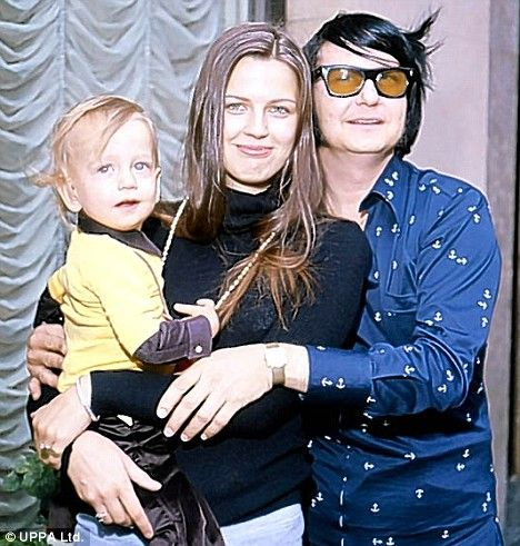 Devoted family man: Roy with Barbara and son Roy Kelton Jr in 1972