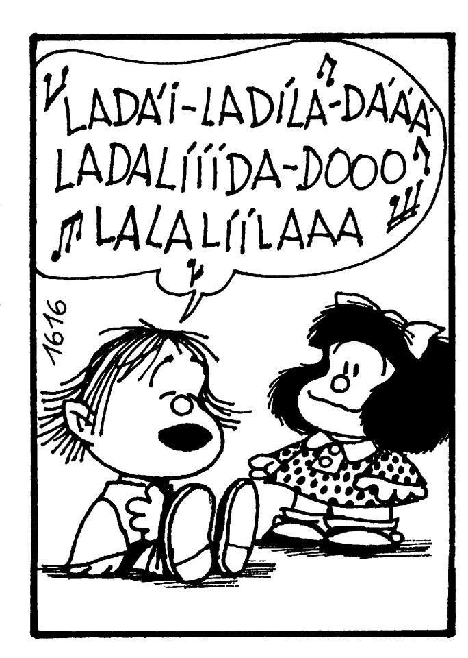 Guille cantando...