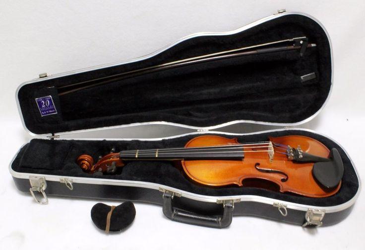 "R270E3 3/4 Scherl Roth Antonius Stradivarius Violin 22"" Student Band Starter #ScherlRoth"