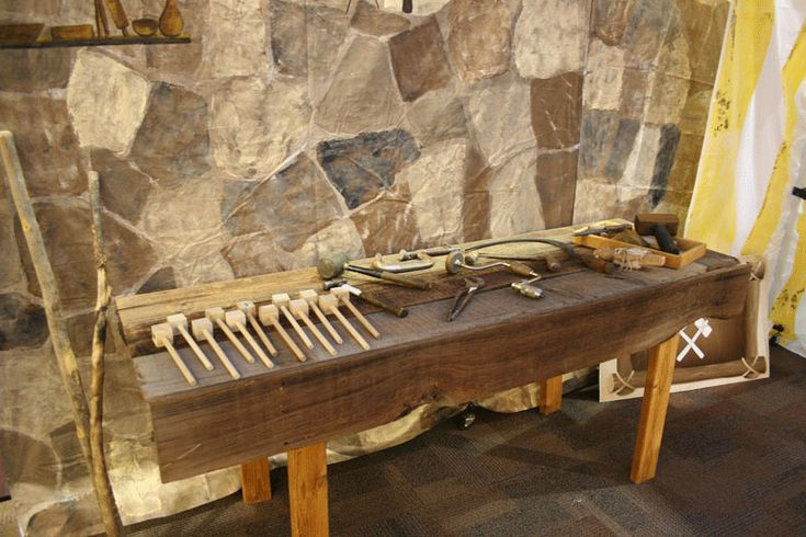 vbs jerusalem marketplace carpenters tent  tools made out