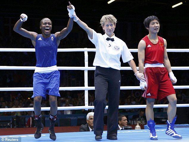 London 2012 Olympics: Nicola Adams wins boxing gold | Daily Mail ...
