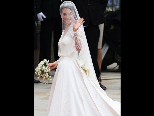 La novia, un verdadero acierto: de Sarah Burton para McQueen.