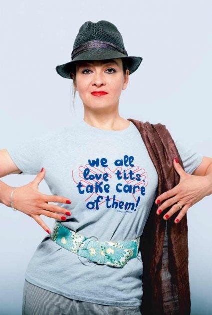 Catherine Ringer s'engage contre le cancer du sein